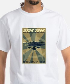 Retro Star Trek: The Next Generation Poster Shirt