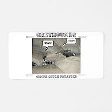 I IZ Comfy! Aluminum License Plate