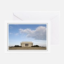 Blue Sky Lincoln Greeting Cards (Pk of 10)