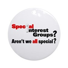 Special Interest Ornament (Round)