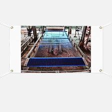 Cambodian Silk Loom Banner
