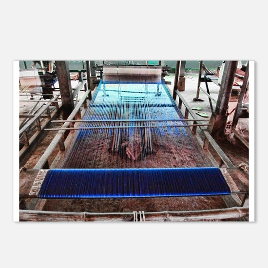 Cambodian Silk Loom Postcards (Package of 8)