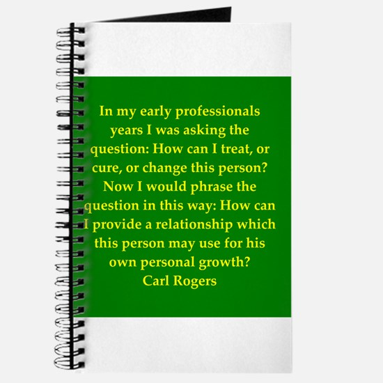 Carl Rogers quote Journal