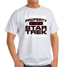 Red Property Star Trek - TNG T-Shirt