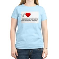 I Heart Geordi T-Shirt