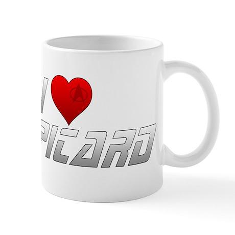 I Heart Picard Mug