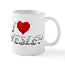 I Heart Wesley Mug