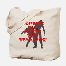 Zombies Dig Chicks Tote Bag