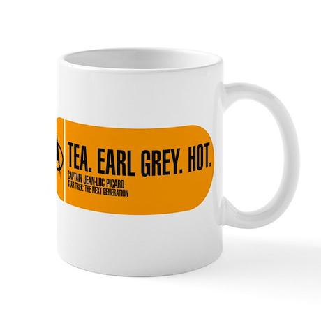 Tea. Earl Grey. Hot. Mug