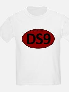 Star Trek: DS9 Red Oval T-Shirt