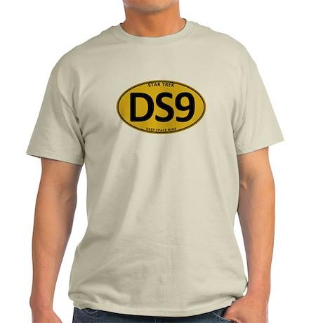 Star Trek: DS9 Gold Oval Light T-Shirt