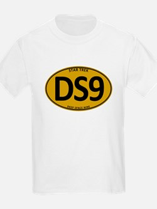 Star Trek: DS9 Gold Oval T-Shirt