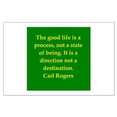 Carl Rogers quote Posters