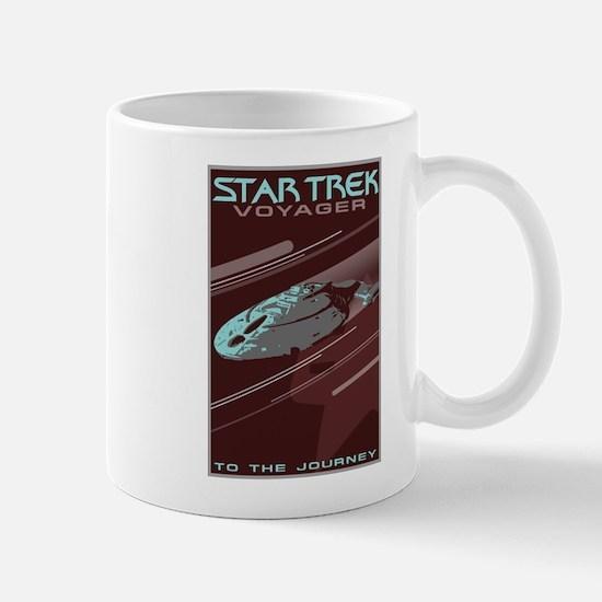 Retro Star Trek: VOY Poster Mug