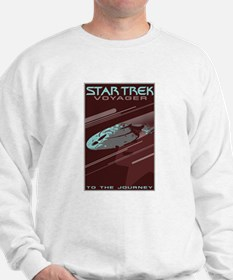 Retro Star Trek:VOY Poster Sweatshirt