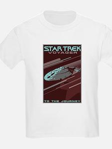 Retro Star Trek: VOY Poster T-Shirt