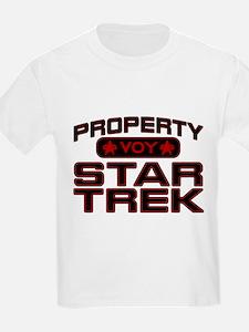 Red Property Star Trek - VOY T-Shirt