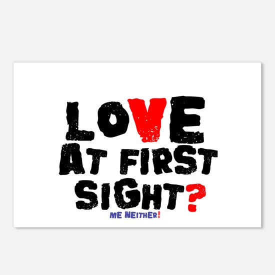 LOVE AT FIRST SIGHT - ME Postcards (Package of 8)