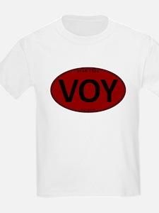 Star Trek: VOY Red Oval T-Shirt