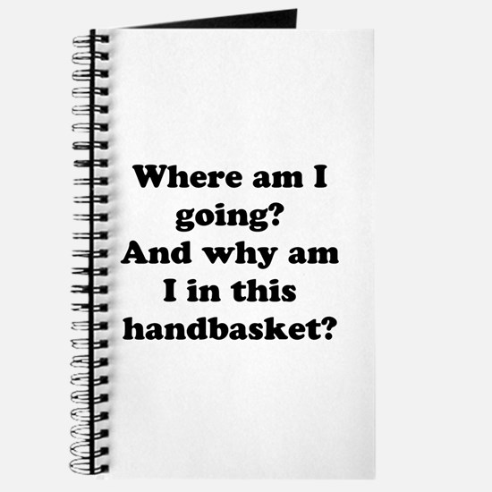 Hell In A Handbasket Journal