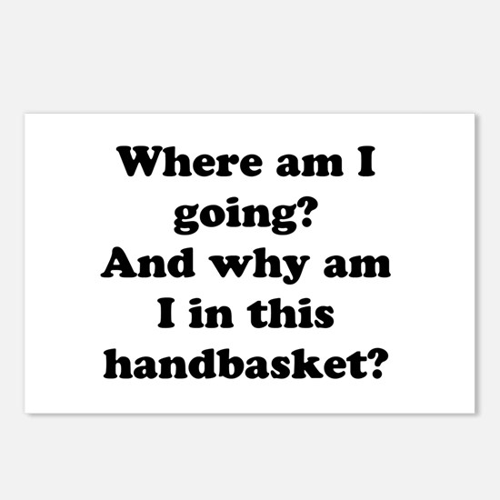 Hell In A Handbasket Postcards (Package of 8)