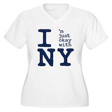 I'm Just OK with NY T-Shirt