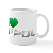 I Heart T'Pol - Green Heart Mug
