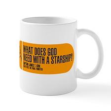 God Need With a Starship Mug