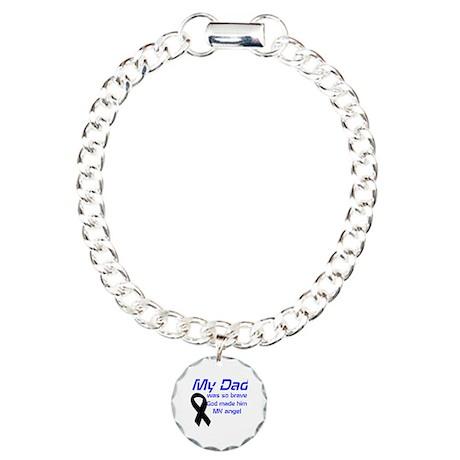 my dad was so brave Charm Bracelet, One Charm