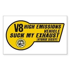 V8 (5x3 SUV Sticker)