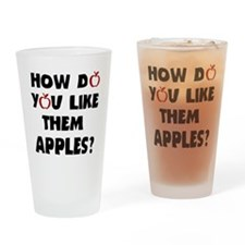 'Them Apples' Drinking Glass