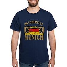 OKTOBERFEST Munich Distressed T-Shirt