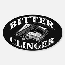 Bitter Clinger (Oval Sticker)
