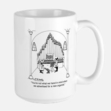 Not The Organist We Wanted Large Mug