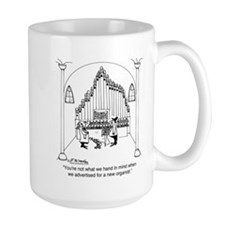 Not The Organist We Wanted Mug