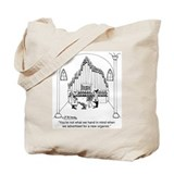 Church organ Canvas Totes