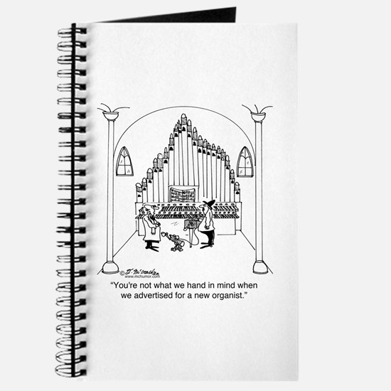 Not The Organist We Wanted Journal