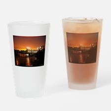 Pittsburgh Sunset Drinking Glass