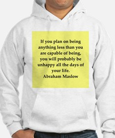 Abraham Maslow quotes Hoodie
