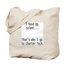 No Talent Tote Bag