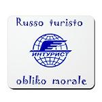 Russo turisto obliko morale