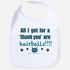 Hairballs Bib