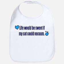 If My Cat Could Vacuum Bib