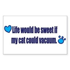 If My Cat Could Vacuum Decal