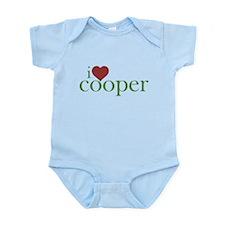 I Heart Cooper Infant Bodysuit