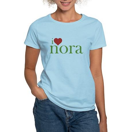 I Heart Nora Women's Light T-Shirt