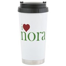 I Heart Nora Travel Mug