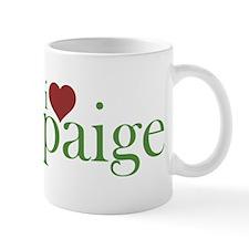 I Heart Paige Small Mug