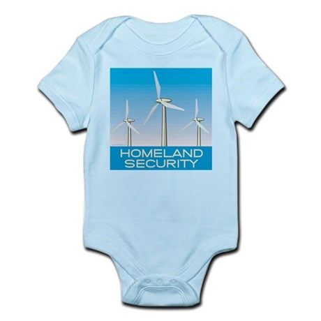 Wind Power America Infant Bodysuit