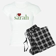 I Heart Sarah Pajamas